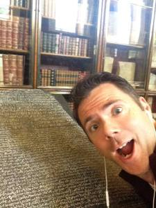 Visiting the Rosetta Stone at the British Museum last year
